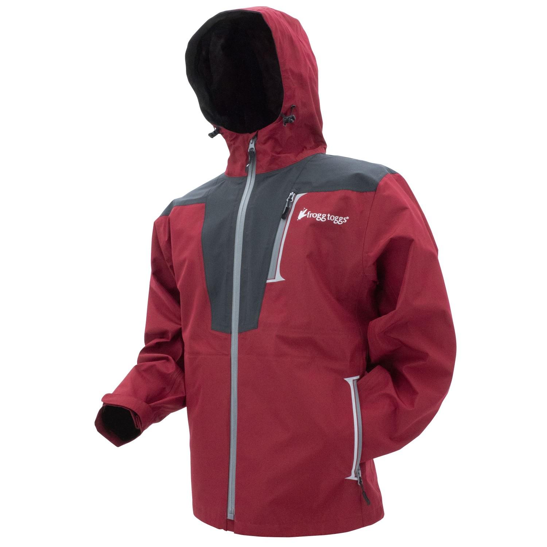 Frogg Toggs Rockslide Jacket Red Carbon Medium
