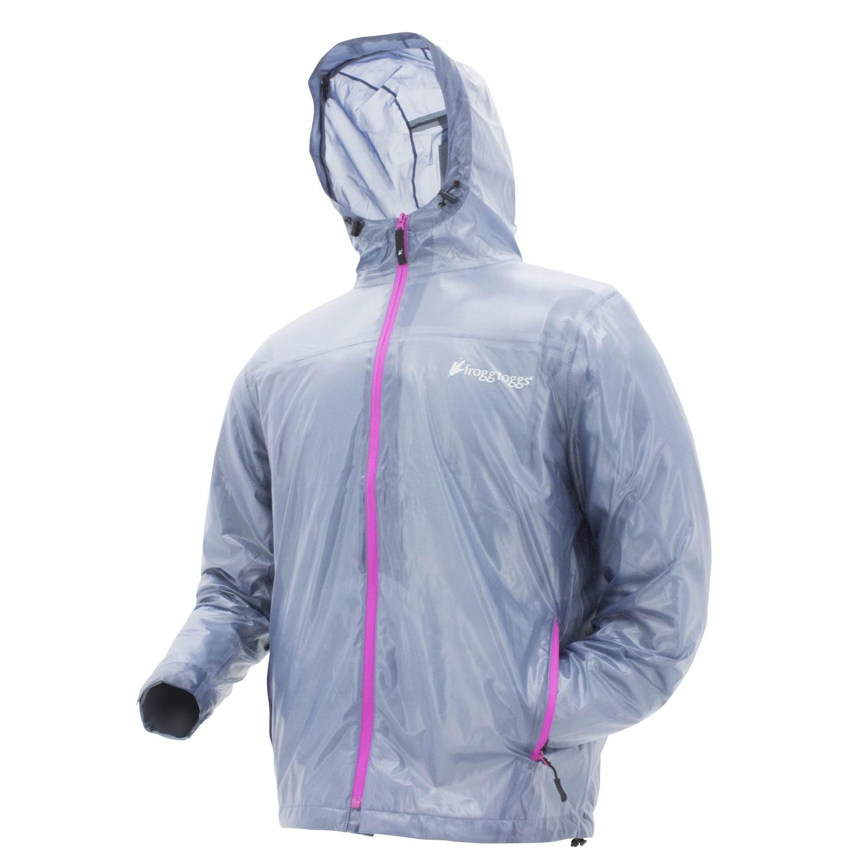 Frogg Toggs Womens Xtreme Lite Jacket Blue Medium