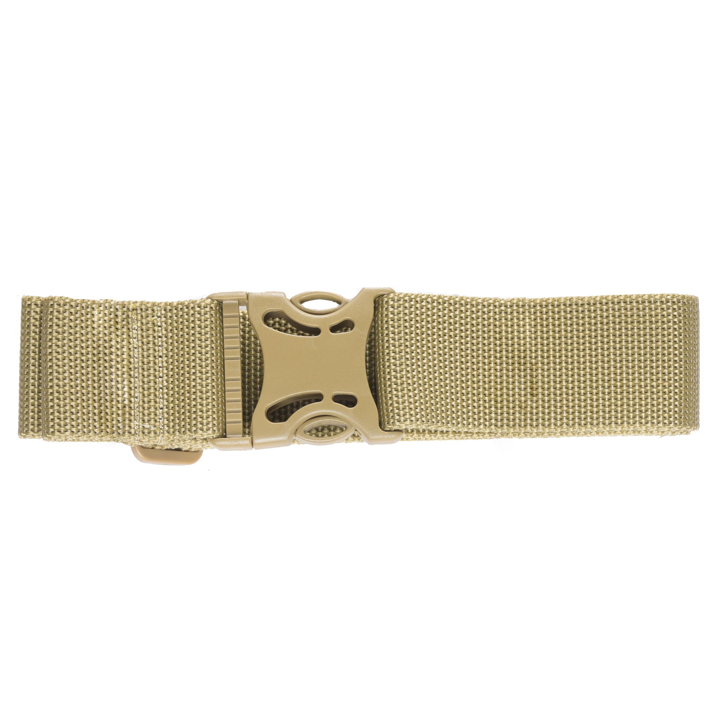 GPS Web Belt 2in Heavy Duty ABS Buckle 28in-52in Tan
