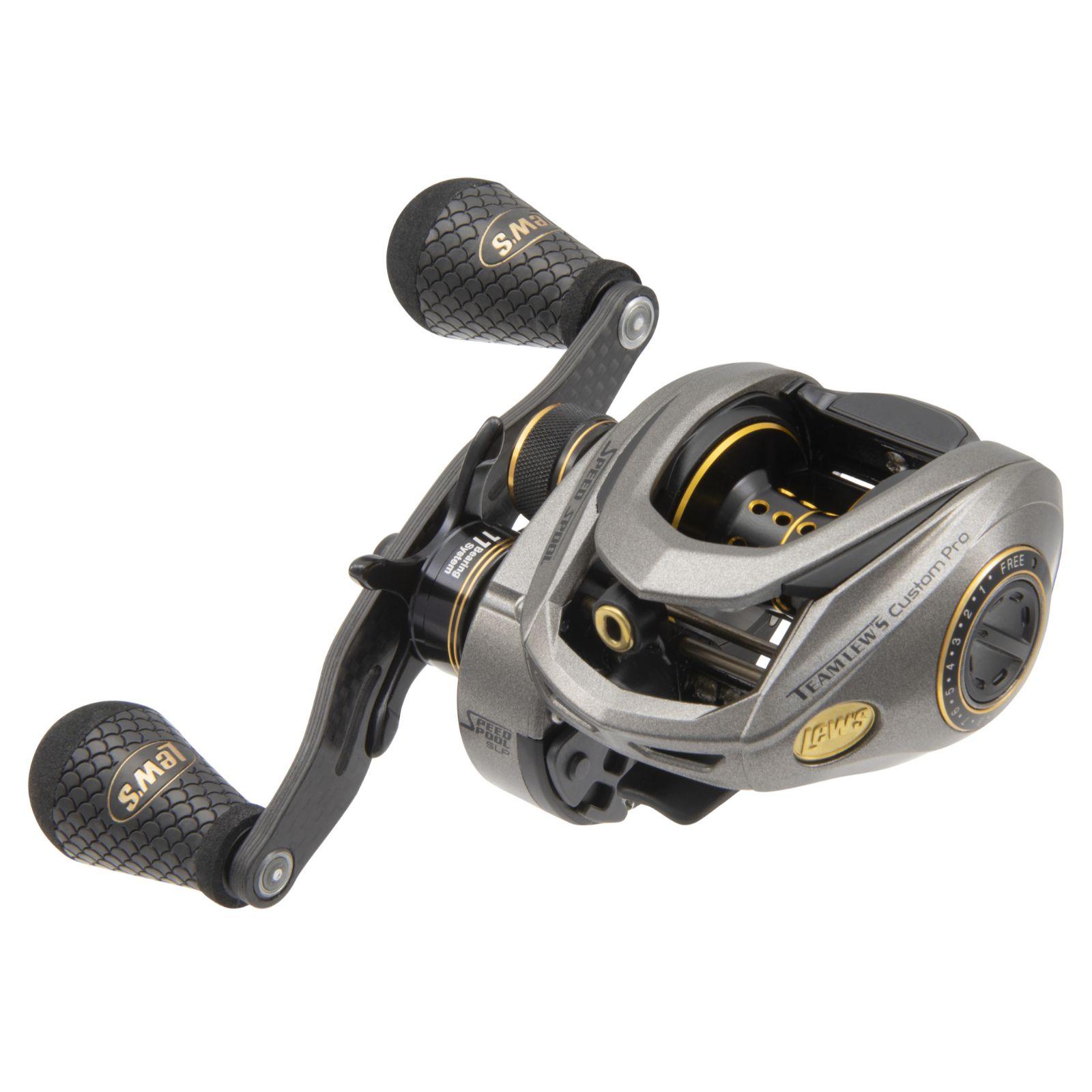 Lews Custom Pro Speed Spool SLP ACB RH8.3:1 Reel