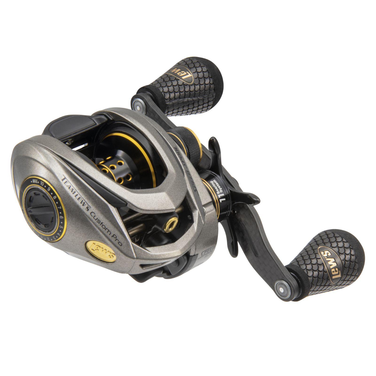 Lews Custom Pro Speed Spool SLP ACB LH 7.5:1 Reel