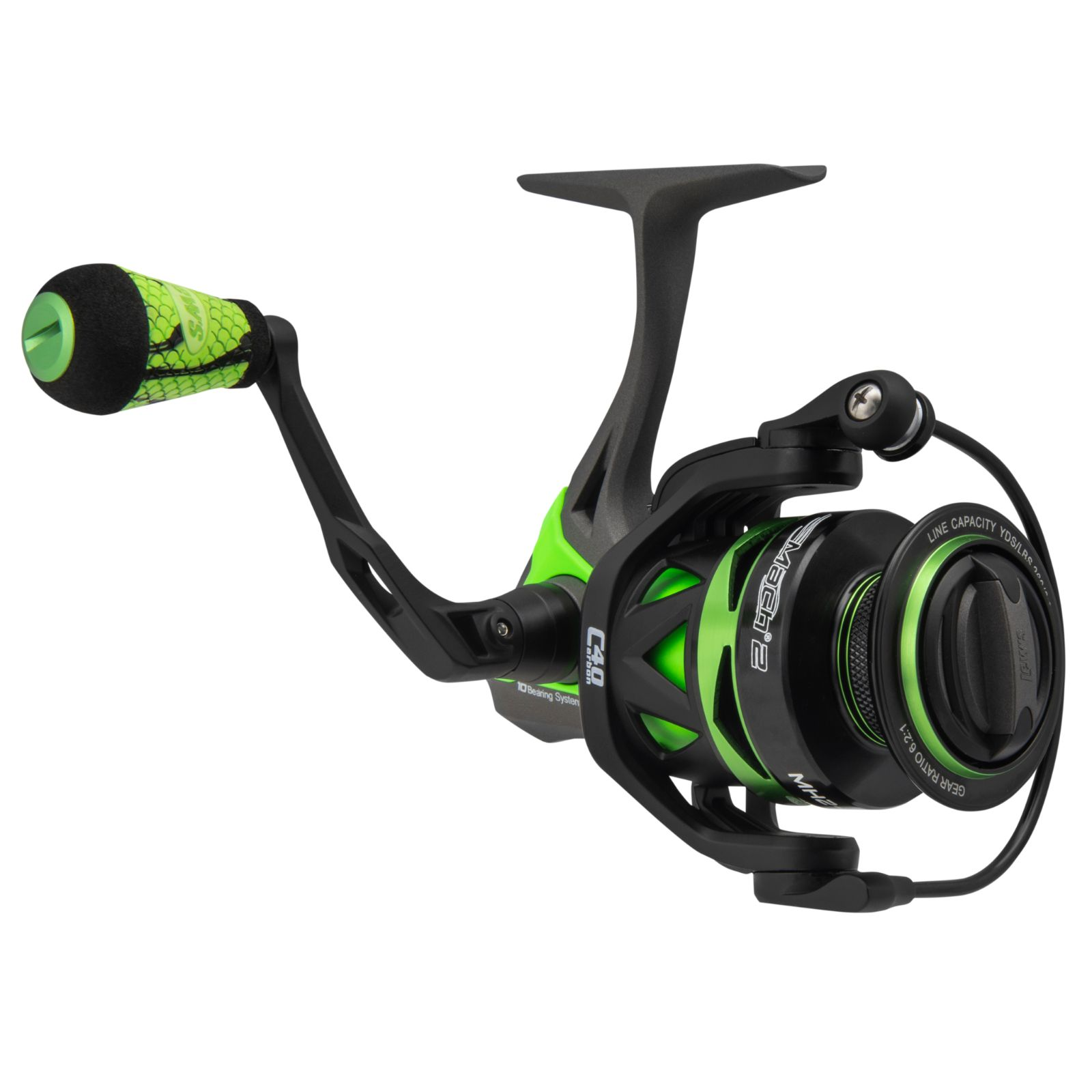 Lews MH2-300A Mach 2 Speed Spin Reel 6.2:2