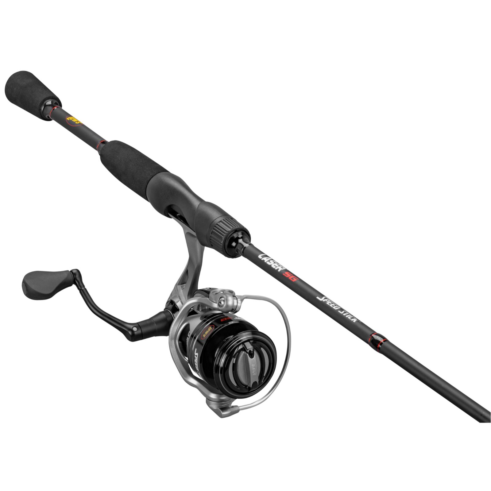 Lews LSG30A66M Laser LSG Speed Spin IM6 Combo 6ft 6in